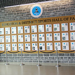 Hall of Fame Wall